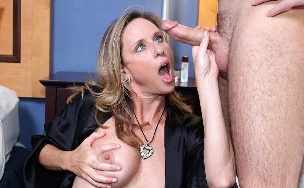 MILF Jodi West Admiring Cock